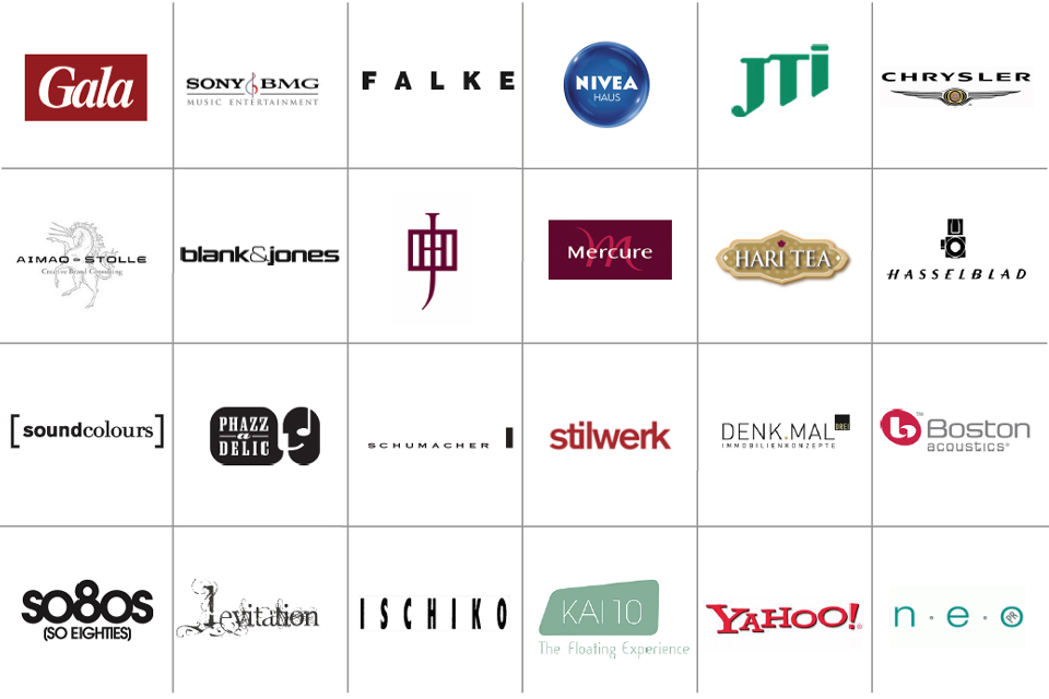 Kunden Logos - ideedeluxe